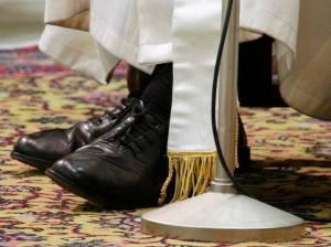 Zapatos papa Francisco